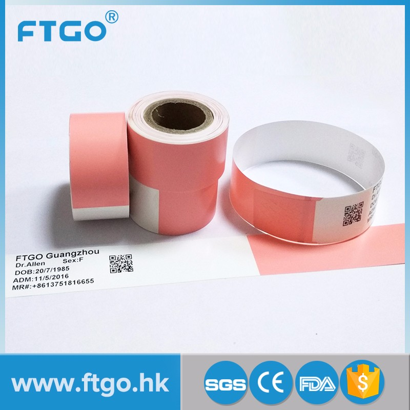 graphic relating to Hospital Bracelet Printable named Disposable Affected person healthcare Identity Bracelets Band identity wristband